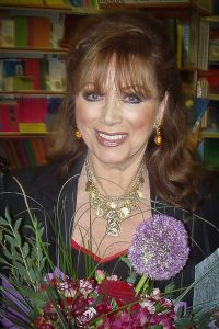 Jackie Collins. Image credit: Dmitry Rozhkov | Wikimedia Commons.