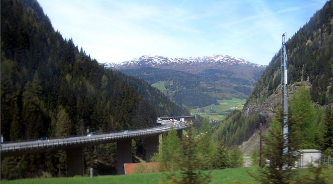 The Brenner Pass. Image credit: Vladimir Menkov | Wikimedia Commons