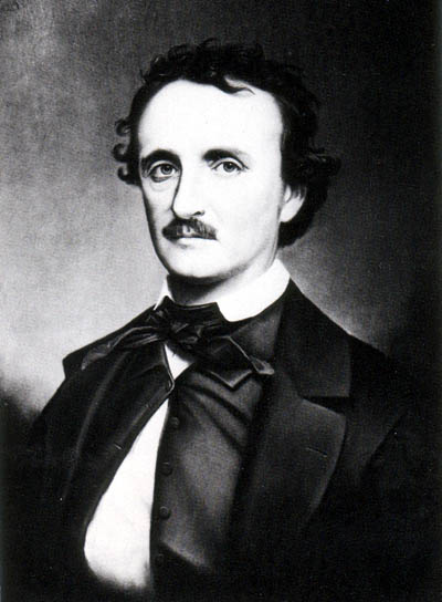 From the silly to the sublime... Edgar Allan Poe. Image: public domain | Wikimedia Commons