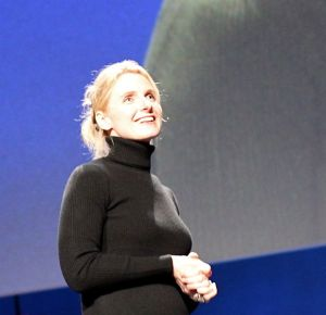 Elizabeth Gilbert. Image reproduced by permission of Steve Jurvetson, c/o Wikimedia Commons
