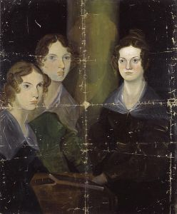 Sibling Rivalry: Anne, Emily and Charlotte. Image: public domain | Wikimedia Commons