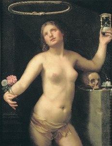 'Allegoria della Vita Umana' by Guido Cagnacci. Public domain image | Wikimedia Commons