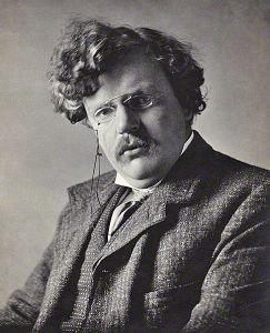 G.K. Chesterton. Image c/o Wikimedia Commons.