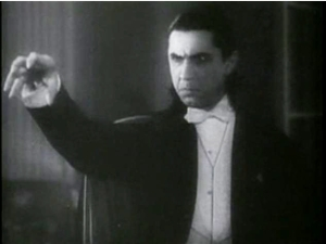 Bela Lugosi as Dracula. Public domain image | Wikimedia Commons
