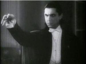 Bela Lugosi as Dracula. Public domain image | Wikimedia Commons