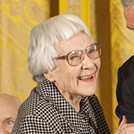 Harper Lee. Public domain image | Wikimedia Commons.
