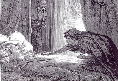 Illustration from Carmilla. Public domain image | Wikimedia Commons