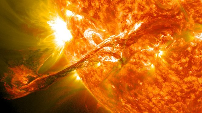 Solar flare Wkimedia Commons